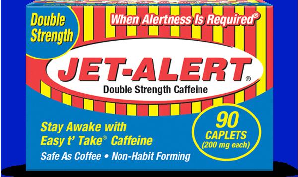 Jet Alert Double Strength Caffeine